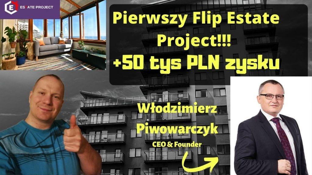 Podsumowanie ICO EST tokenu Estate Project (flipowanie mieszkań) suche fakty przedstawia Włodzimierz Piwowarczyk