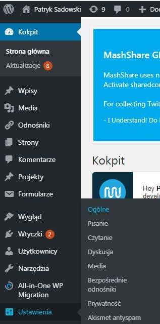 kopit wordpress